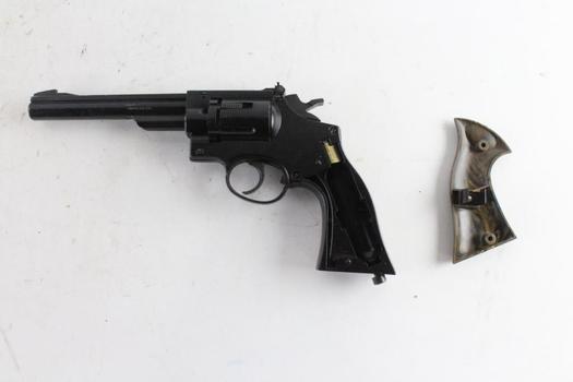 Crosman, 38T, Pellet Revolver