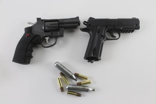 Crosman Air Guns, 2 Pieces