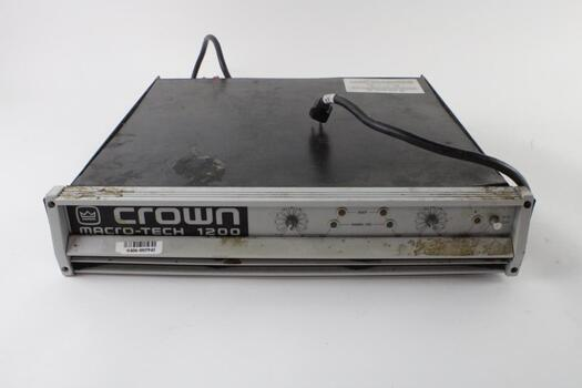 Crown Stereo Power Amplifier