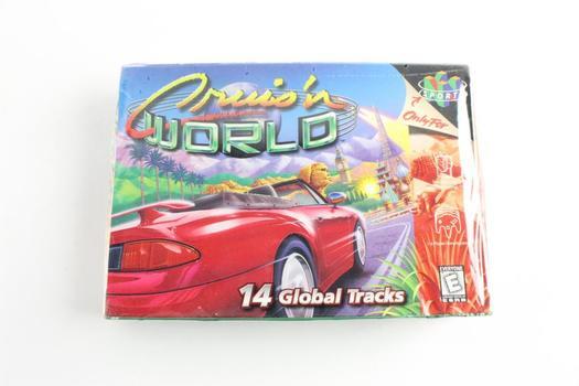 Cruis'n World For Nintendo N64