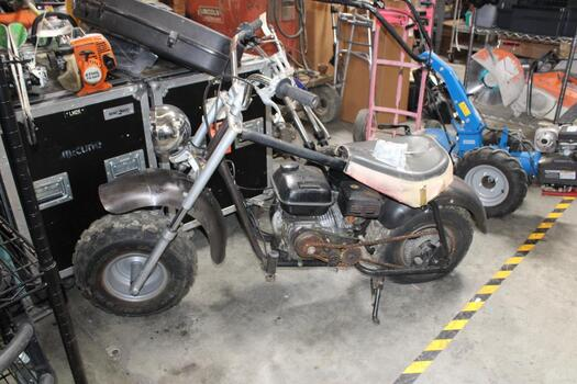 Custom Hand-Made Bike With Unknown Lawn Mower Engine