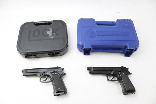 Daisy Powerline 340 Airsoft Guns And Gun Cases: 4 Pieces