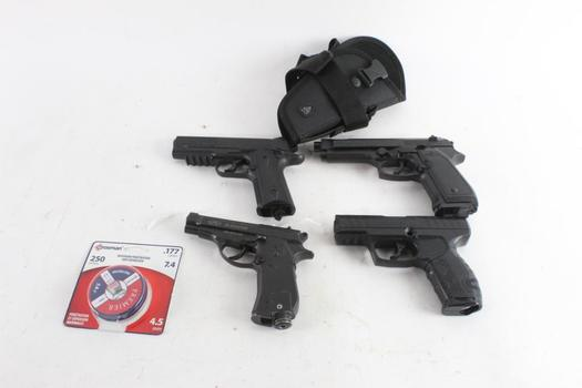 Daisy Powerline And Other Airsoft Guns And More, 6 Pieces