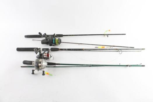Daiwa And Other Fishing Poles, 3 Pieces