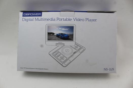 DBPower Digital Multimedia Portable Video Player