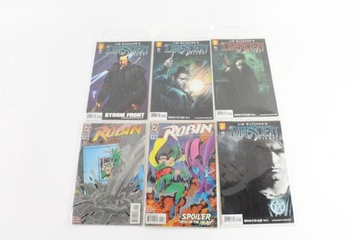 DC Comics 'Robin' And More, 6 Pieces