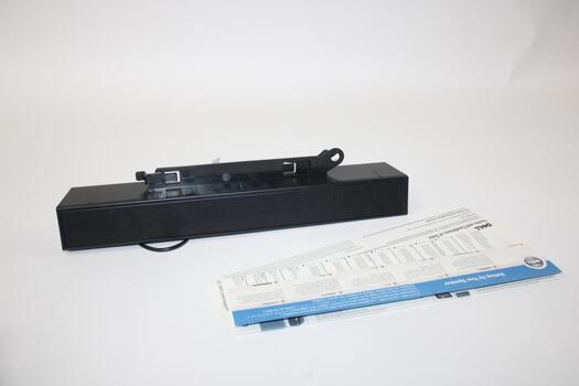 Dell Sound Bar Pc Multimedia Speaker - Black