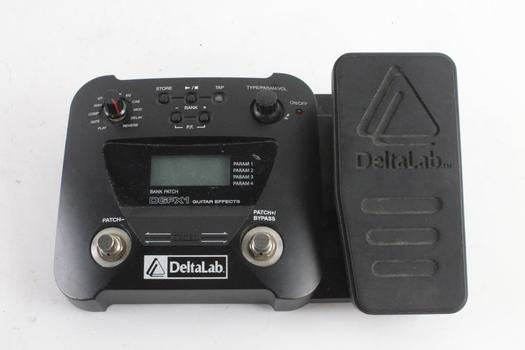 Delta Lab Guitar Multi Effects Foot Pedal
