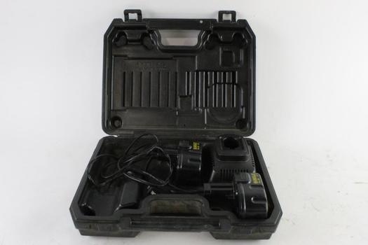 DeWalt Batteries And Charger, 3 Pieces