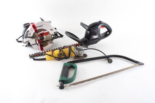 Dewalt, Black And Decker, Craftsman, Masterforce Tools 4 Pieces