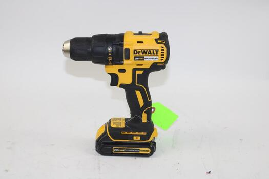 DeWalt Cordless Drill Driver DCD777 With Battery Pack
