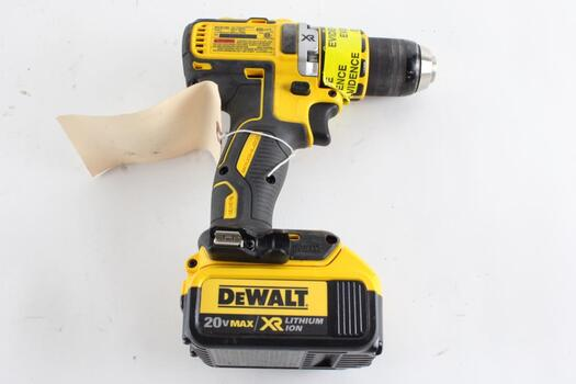 DeWalt, Cordless Drill, With Battery