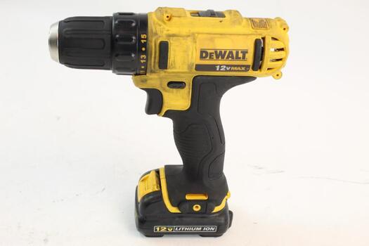 """Dewalt Dcd710 3/8"""" Cordless Drill Driver"""