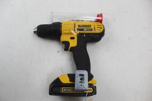 Dewalt Dcd771 Cordless Drill Driver