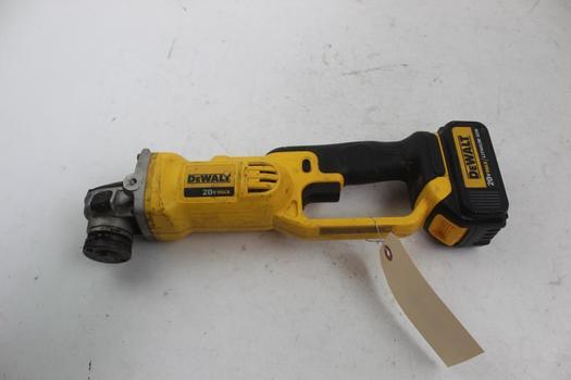 Dewalt Dcg412 Heavy Duty Cordless Cut-off Tool