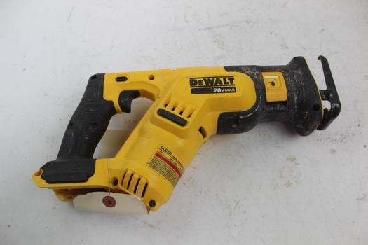 Dewalt Dcs387 Recipricating Saw