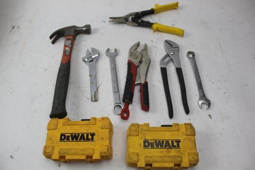 Dewalt Drill Bits Sets, Pliers, & More; 7+ Pieces