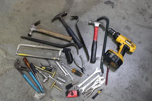 DeWalt Drill Driver, Hammer, And More! 5+ Items