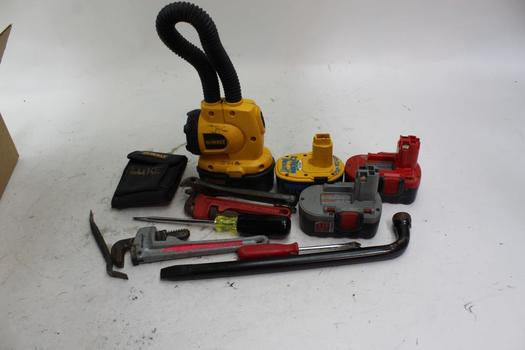 DeWalt DW919 Light, Power Tool Batteries And More: 5+ Items