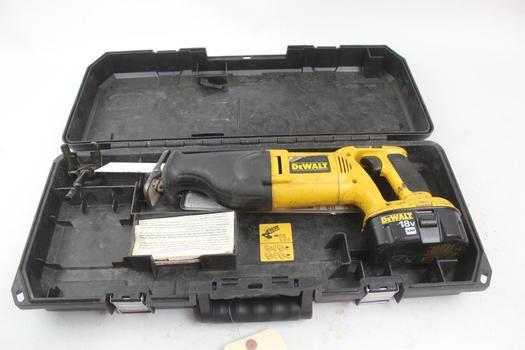 Dewalt Dw938 Reciprocating Saw