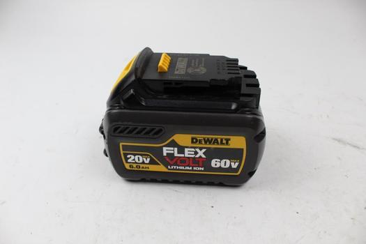 DeWalt Flex Volt Lithium Ion 60V Max Battery Pack