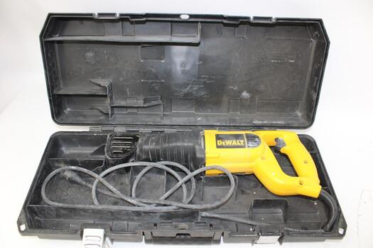 DeWalt Reciprocating Saw DW304P With Blade And Case