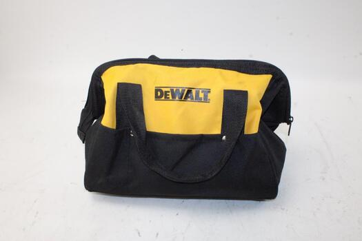 Dewalt Travelin Tool Bag With Miscellaneous Hand Tools