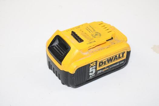 Dewalt XR 20v Battery