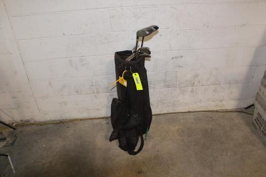 Diamond Tek Bag With Clubs, 7 Pieces