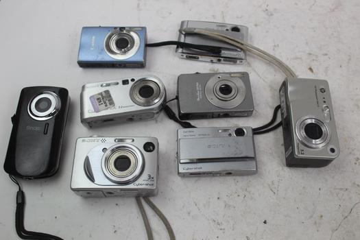 Digital Cameras: Sony, Canon, HP And More: 5+ Items