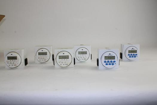 Digital Timers, 6 Pieces
