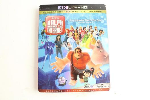 Disney Ralph Breaks The Internet 4K Ultra HD DVD