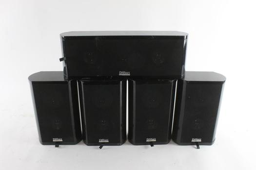 Divinci Subwoofers And Speakers, 5 Pieces