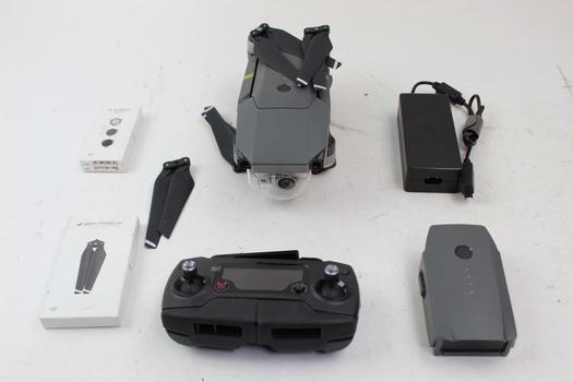 Dji Mavic Pro M1P Folding Quadcopter Drone And Remote