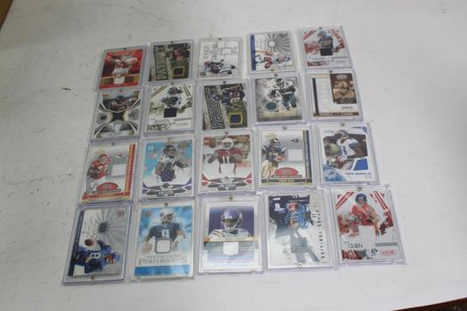 Donrusss, Pacific Trading, Score Assorted Trading Cards, 20  Pieces