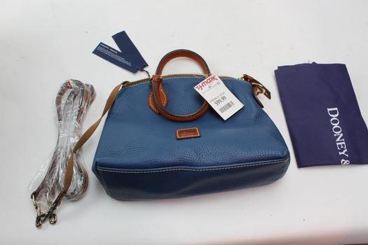 Dooney & Bourke Crossbody Leather Satchel, New