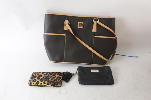 Dooney & Bourke Handbag And More, 3 Pieces