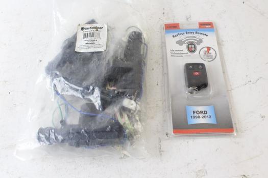 Doorman Help Keyless Entry Car Remote And Installgear 4 Door Lock Actuators, 2 Pieces