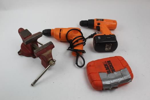 Drill Drivers, Clamp, Screw Bits And More: Chicago Electric, Companion: 4 Items