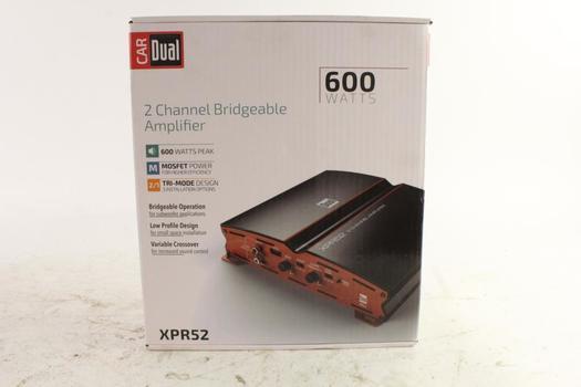Dual Amplifier