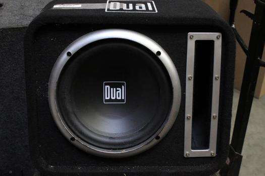 Dual Car Speaker And Speakerbox