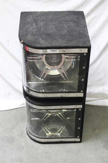 Dual Illuminite Car Speaker