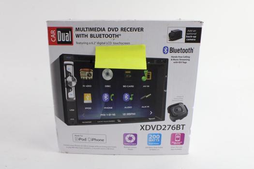 Dual Multimedia DVD Receiver Car Stereo