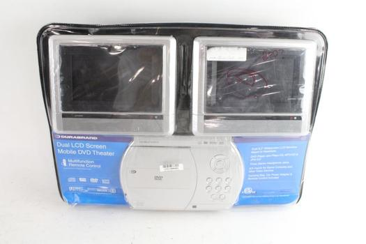 Durabrand Dual LCD Screen Mobile DVD Theater