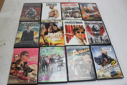 Dvd Movies: Creed, Crank, Suicide Squad And More: 10+ Items
