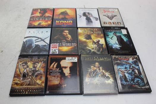 Dvd Movies: Interview With A Vampire, Dracula, Underworld And More: 10+ Items