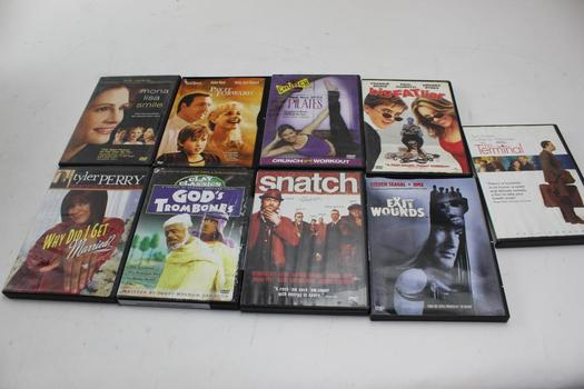 Dvd Movies: Snatch, Exit Wounds, Pay It Forward, The Terminal And More: 5+ Items