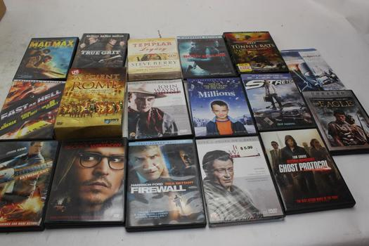 Dvd Movies: True Grit, The Eagle, Firewall And More: 10+ Items
