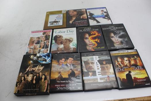 Dvds: Forrest Gump, Firefly, Babel And More: 10+ Items