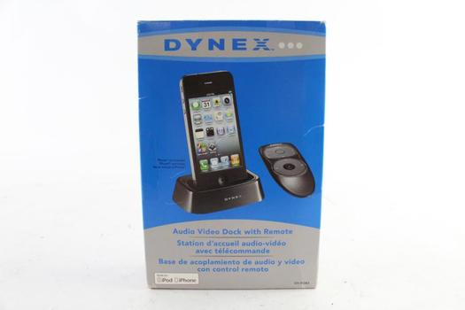 Dynex Audio Video Dock With Remote, For Apple